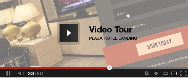 Plaza - Education - Hotel - Dating Landing