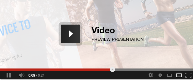 Stark - Health & Fitness HTML5 Responsive Template Video