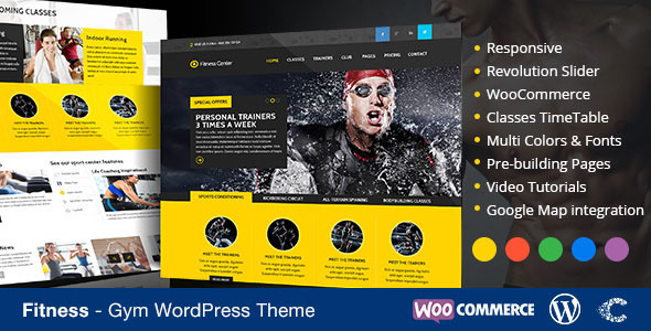 GXM - Gym/Fitness Club PSD Theme
